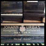 Pianino zabytkowe