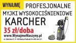Do wynaj�cia Myjka Karcher na 230 V / 400v