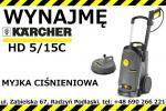 Do wynajęcia myjka Karcher 230 V / wynajmę myjkę Karcher HD